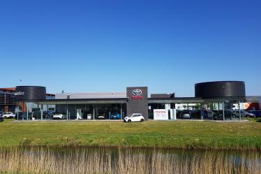 Voorzijde Toyota Wagenmaker Zutphen
